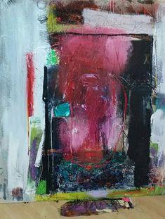 Memories In Hiding Original Abstract Acryllic by LivsGlad on Etsy
