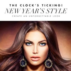 Get an irresistible and unforgettable look for New Year's Eve. Follow the steps on the next pin!
