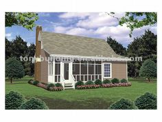 Mother in law cottage on pinterest modular homes for Prefab mother in law cottage