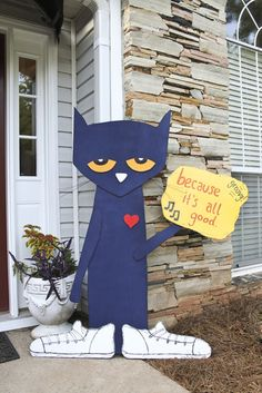 "Pete The Cat Craft | : Pete the Cat: I Love My White Shoes (Book) / Birthday ""Pete the Cat ..."