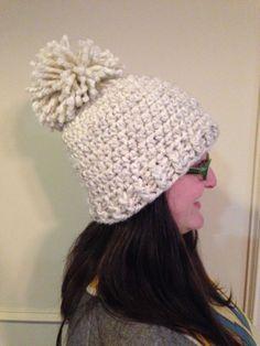 Chunky Hat free crochet pattern