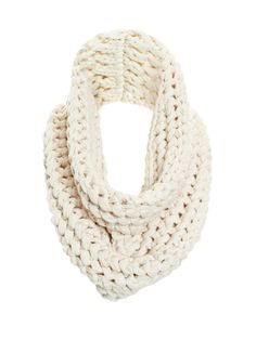 This seasons must-have snood style knitted collar. Perfect for relaxed weekend wear.
