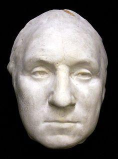 Death mask of George Washington.