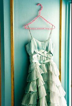 Pretty color. Pretty dress.