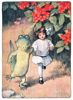 "From ""Alice's Adventures in Wonderland"", 1907, Illustrated by Bessie Pease Gutmann"