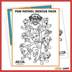 Nick Jr.'s newest show, PAW Patrol, is teaming up with ASPCA for some awesome animal rescue!  Get in on the action with this PAW Patrol Rescue Pack!