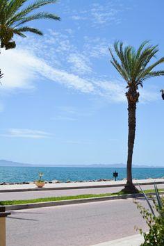 A beach front walk in Loreto, Mexico. #VDPLFAM #VillaDelPalMarL // www.cupcakesandcutlery.com
