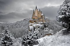 The Alcazar....10 The Most Breathtaking Places to Visit in Winter