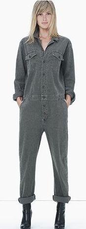 Stretch Cotton Linen Jumpsuit