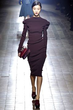 Lanvin Fall 2013: Structure