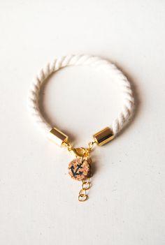Sailorette nautical rope bracelet