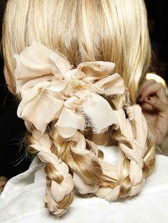 silk ribbon braid