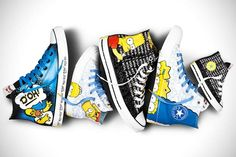 The Simpsons X Converse – Les sneakers Simpson ! | Ufunk.net