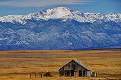 Majestic Pikes Peak, Colorado Springs, Colorado   Flickr - Photo Sharing!