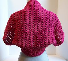 Tekko Shrug ~ free Ravelry downloadable #crochet pattern.