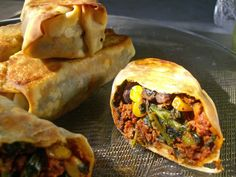 Vegan Southwest Eggrolls mix two very different cuisines into one really delicious thing.