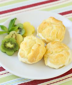 be afraid no more - an easy cream puff recipe!