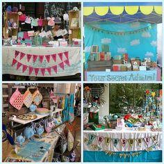 Inspiring Craft Show displays