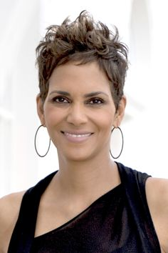 14 Best Haircuts for Spring 2013: sheared, tapered and long on top – Halle Berry