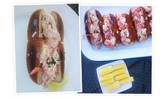 The lobster roll and home made french fries | goop.com