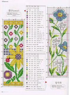Floral Bookmark