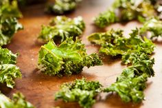 Recipe for Health: Kale Chips potato chip, healthi snack, olive oils, healthy snacks, kale chips, food, eat, 100 calories, recip