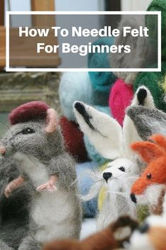 Needle felting tutorials, advice hints and tips for complete beginners. Learn how to needle felt and avoid common mistakes before you start. You don't have to be artistic and this could even be your first craft project. No sewing, wires or fancy equipment. All you need is enthusiasm! Award winning needle felting kits are also available. Unlock your creativity and be inspired! #howtoneedlefelt #needlefeltingkits #easydiycrafts #needlefeltingforbeginners #craftblog #needlefeltingblog