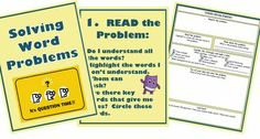 free word problems resource word problem