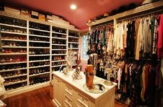 closet designs, dream closets, closet organization, closet dream, future husband