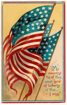My country tis of thee...