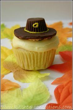 Thanksgiving cupcake @Candice Wilde @jan issues Kimberly @Tiffani Anderson Belair