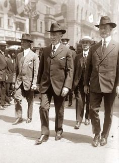 Woodrow Wilson, the President of the United States during World War 1