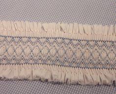 blue smock, question answer, pleat, smock idea, smock insert, michi, smocking, heirloom sew, blog