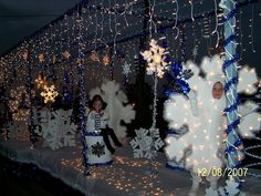 Snowflake/Snowman Christmas Float