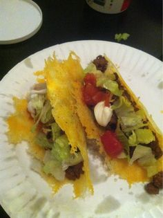 #Keto  tacos. #cheese #tacos #low-carb