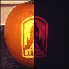 Pumpkin carving, #Baylor style! (via aDumbNelson on Twitter) #SicEm