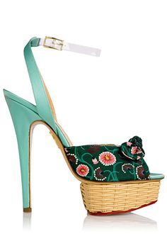 Charlotte Olympia  - Shoes - 2013 Spring-Summer