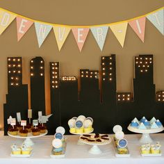 Denver themed baby shower