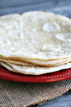 The BEST Homemade Tortillas on MyRecipeMagic.com