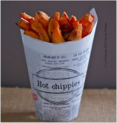 Sweet potato chips baked with vanilla | bizzy lizzy's good things