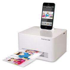 The iPhone 5 Photo Printer - Hammacher Schlemmer