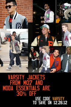 Look who's wearing Varsity Jackets?    30% off Varsity Jackets from MO7 and Moda Essentials with code VARSITY    #fashion #swag #style #stylish #TagsForLikes #me #swagger #cute  #photooftheday #jacket #hair #pants #shirt #instagood #handsome #cool  #polo #swagg #guy #boy #boys #man #model #tshirt #shoes #sneakers  #styles #jeans #fresh #dope #beiber #xmas #malllines #afterchristmas