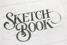 Sketch Book by Ged Palmer, via Behance