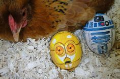 Paint geeky Easter eggs