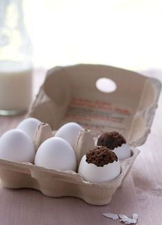 Brownies in eggs? Awesome