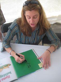 Anna Dewdney at the Texas Book Festival