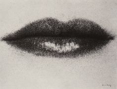 Man Ray. Lips, ca.1930.
