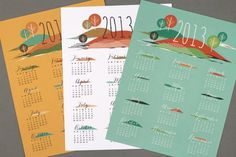 Free Printable 2013 Calendars (http://blog.hgtv.com/design/2012/12/10/daily-delight-free-printable-2013-calendars/?soc=pinterest)