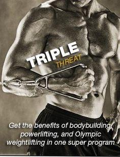 Triple Threat - Men's Fitness