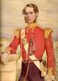 Lieutenant Robert Graham Polhill (1828-1854) 95th Regiment of Foot. Killed at the Battle of the Alma whilst defending the regimental Colours. He was my 2nd great granduncle.